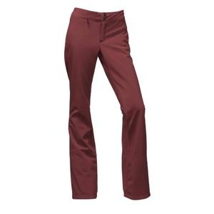 Size XS The North Face Apex STH Pants Burgundy